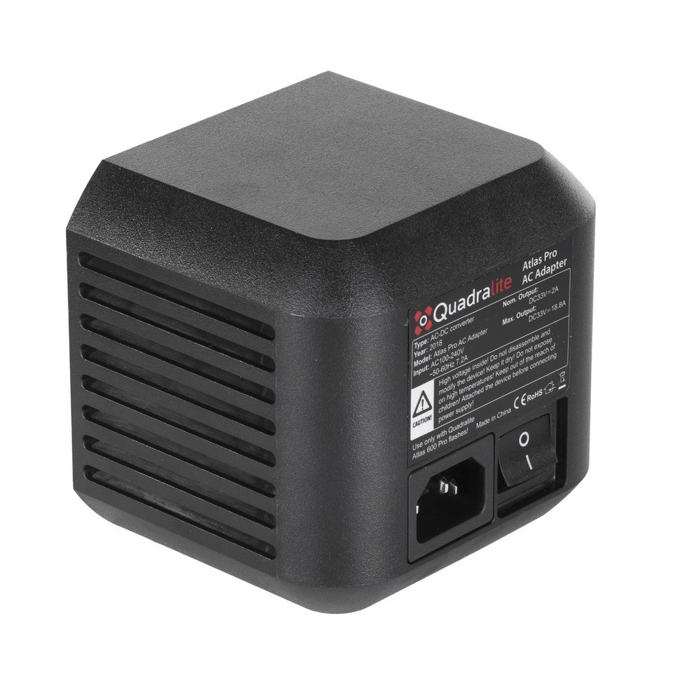 Quadralite Atlas Pro AC Adapter