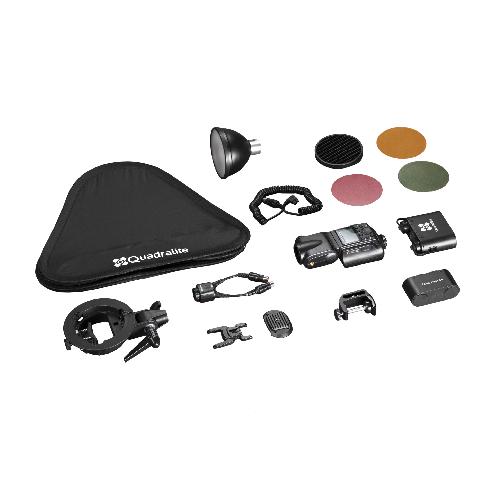Quadralite Reporter 360 TTL 1-Light Complete Kit